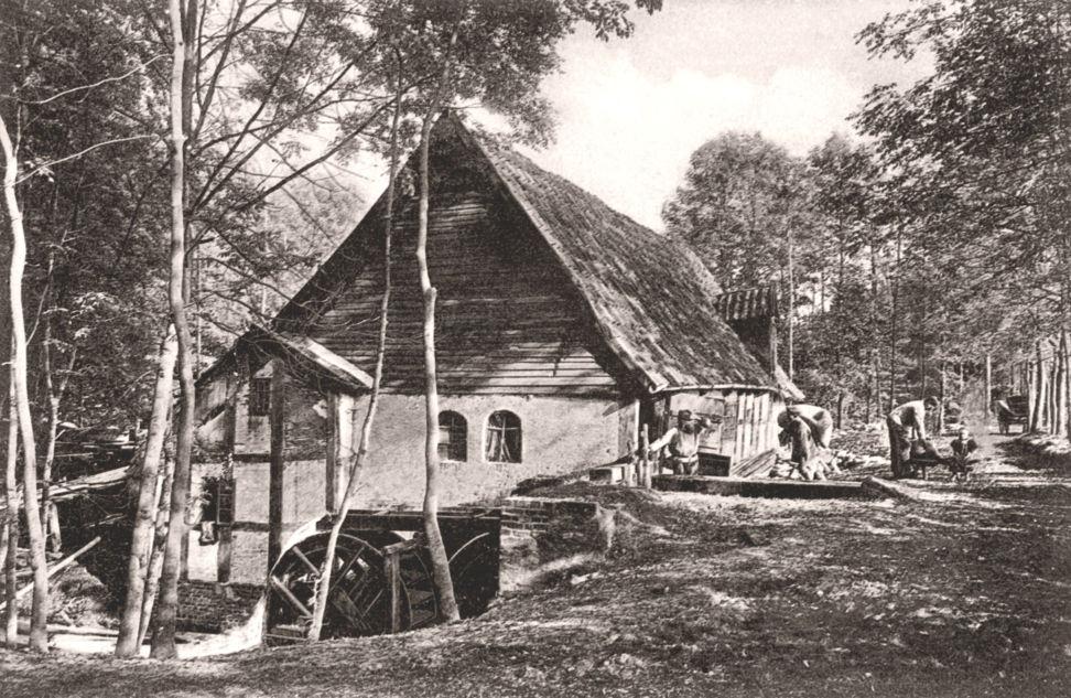 Bild der alten Scherpel-Mühle